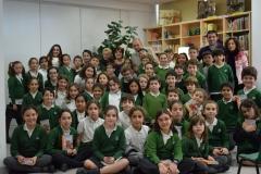 Alumnos, profesores de 4º de Primaria, Juan y Ninfa Muñoz