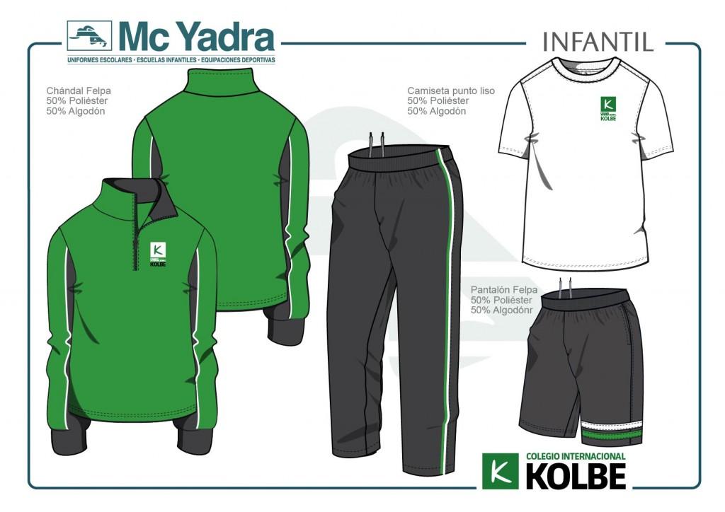 Uniforme Infantil Kolbe