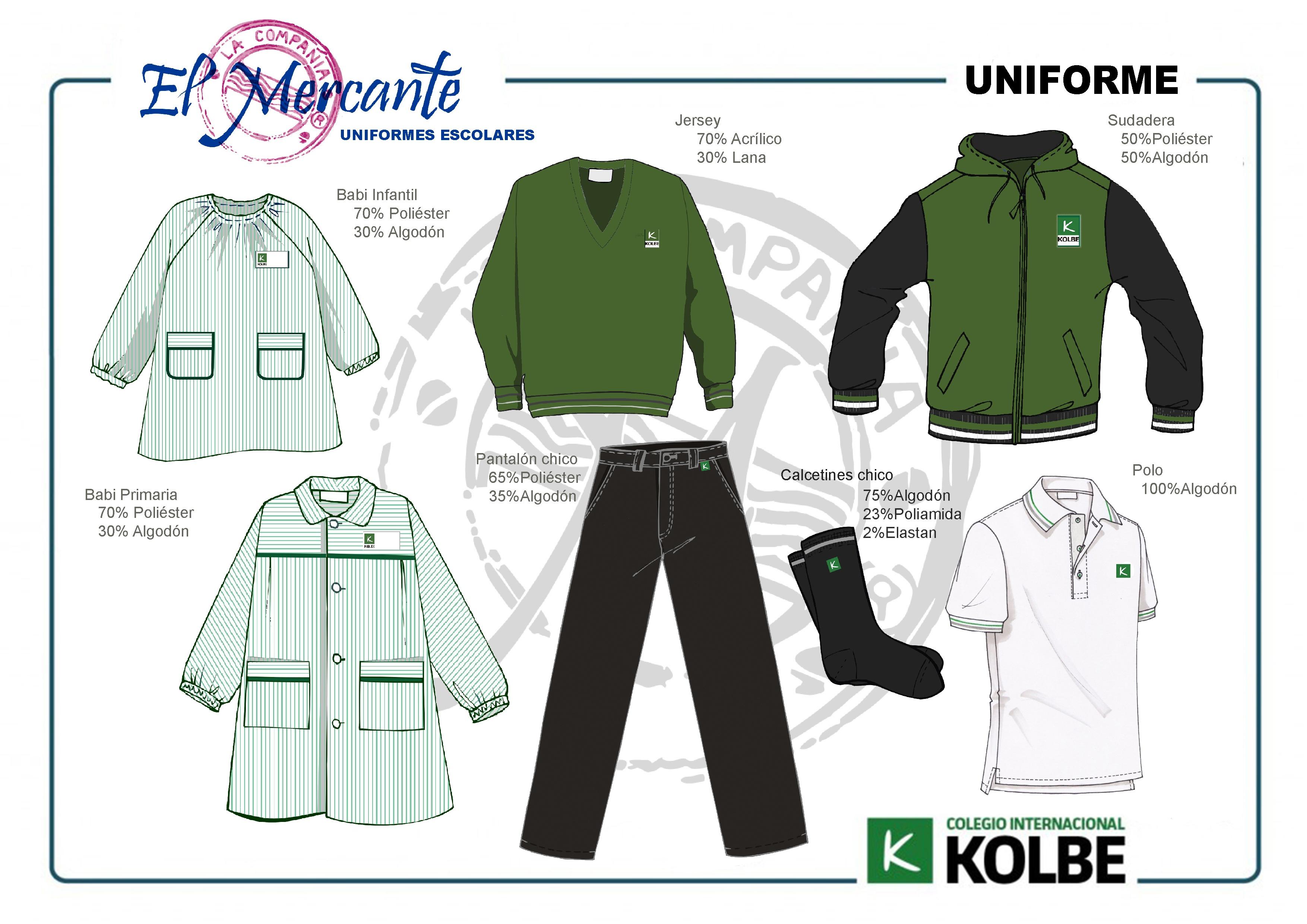uniforme Primaria Kolbe