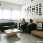Sala de espera Colegio Kolbe