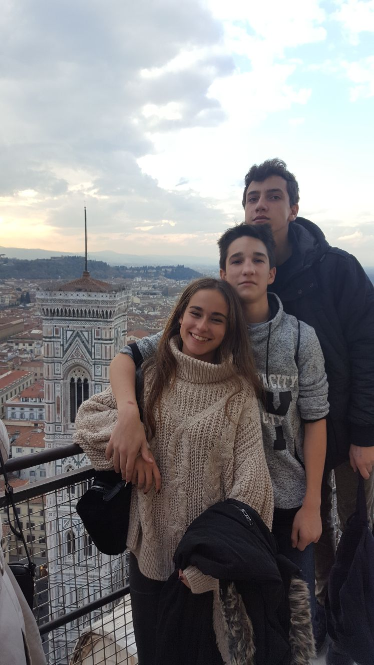 Viaje estudios Italia colegio Kolbe