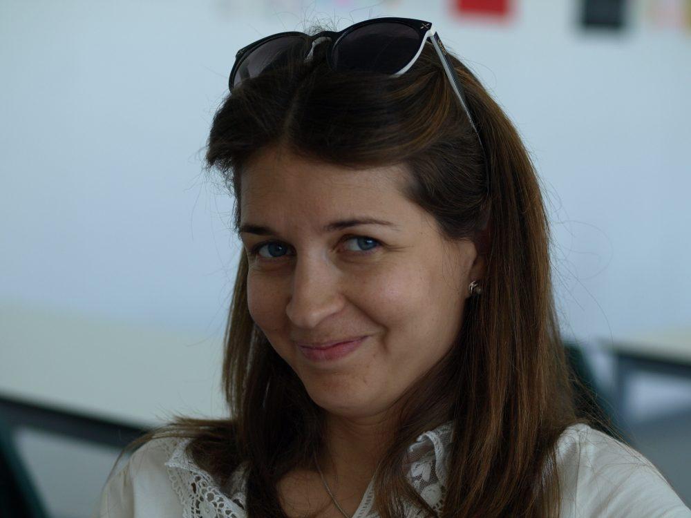 Eva Sánchez, profesora de Lengua y Literatura