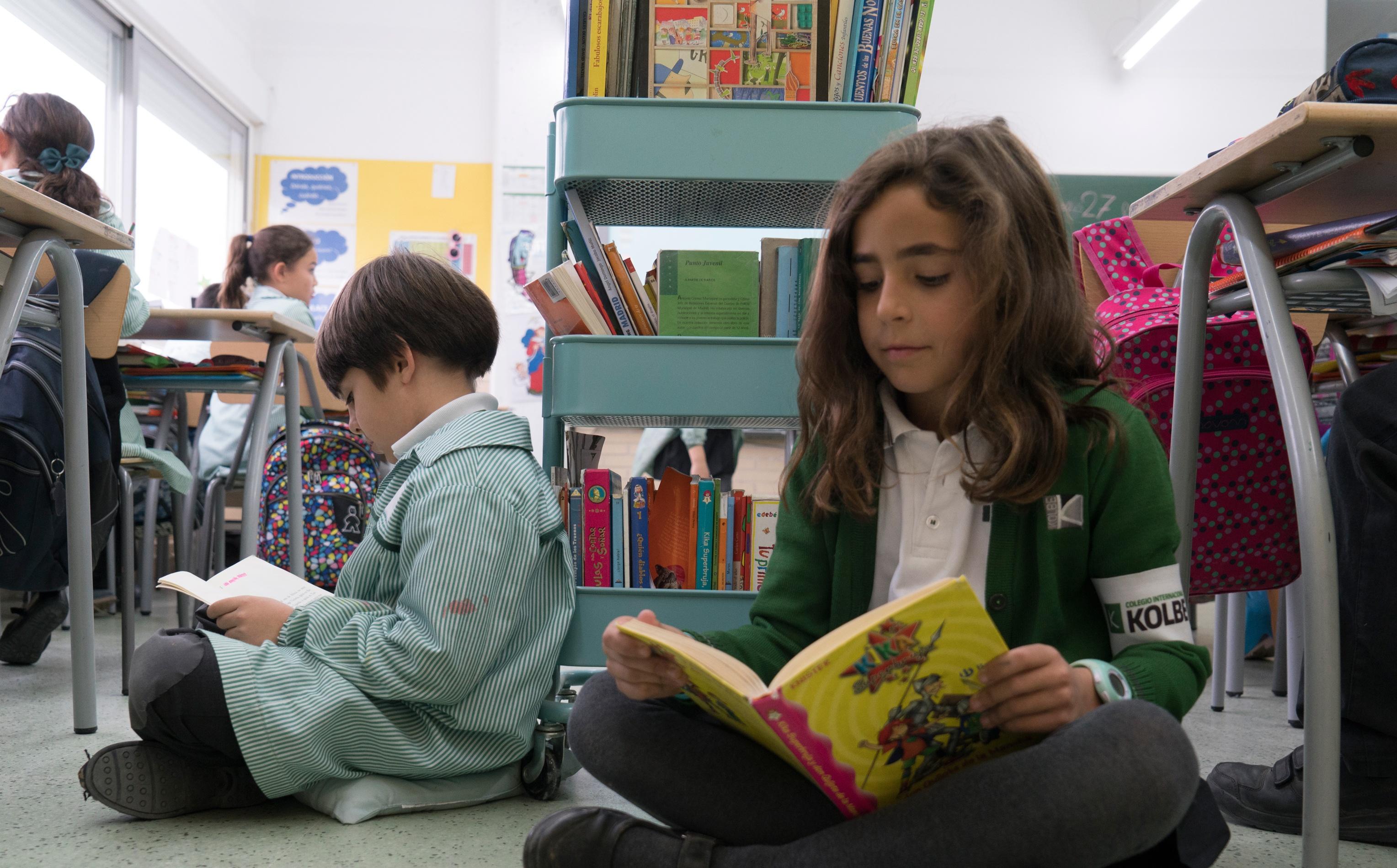 Lectura libre en Primaria