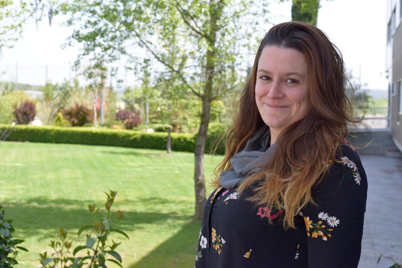 Lidia Verdes, profesora en prácticas en el Colegio Kolbe