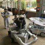 """Vehículos lunares, proyecto """"El espacio"""""""
