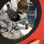 Nave espacial en 3º Infantil