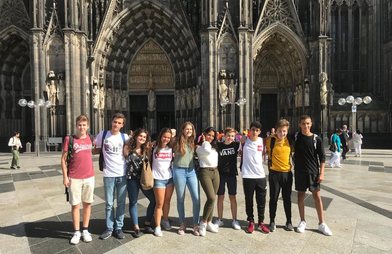 Intercambio alemán Colegio Kolbe