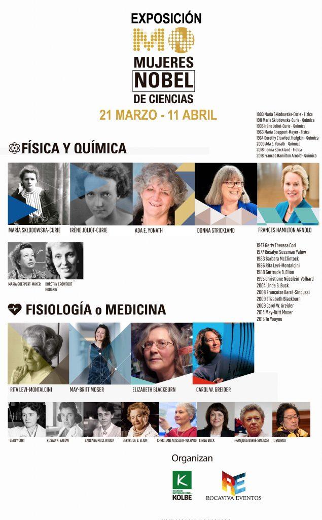 Mujeres Nobel de Ciencias