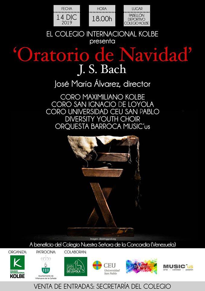CARTEL ORATORIO DE NAVIDAD